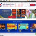 All British Casino Deposit Bonus Code