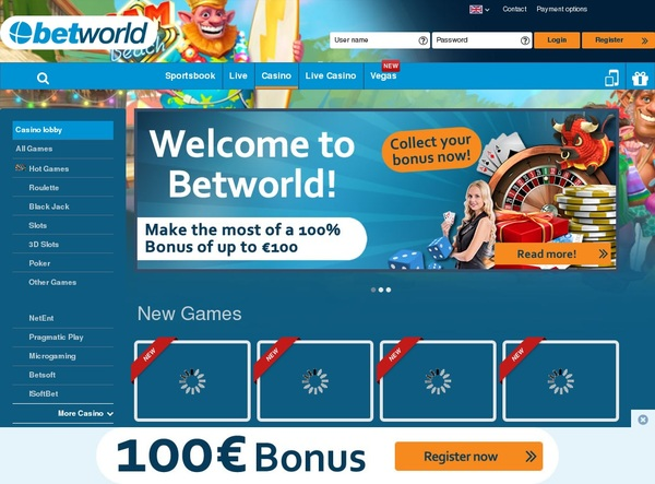 Betworld Money Bookers