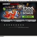 Bonus Moneygaming Code