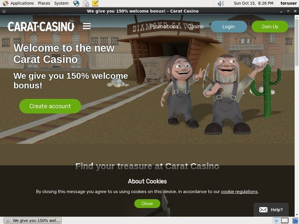 Caratcasino Without Credit Card
