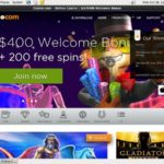 Casinocom Registration Page
