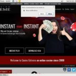 Casinoextreme Joining Bonus