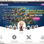 Casinoheroes Welcome Bonus