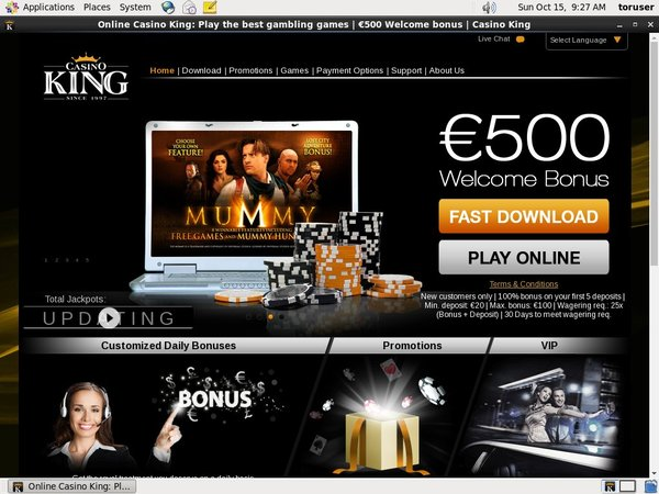 Casinoking Deposit Play With