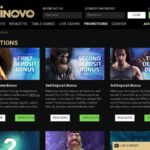 Casinovo Promotions Limited Bonus