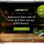 Comeon Bonus Promotion