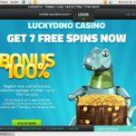 Deposit Lucky Dino