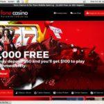 Fone Casino Australian Dollars