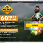 Gdaycasino New Customers Bonus