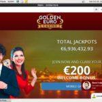 Golden Euro Casino 1st Deposit Bonus