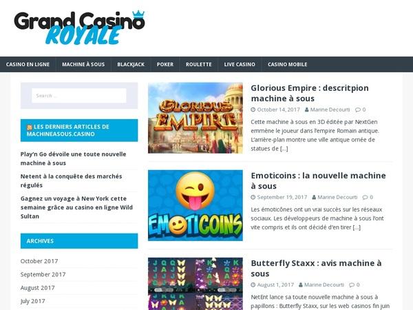 Grand Casino Royale Visa