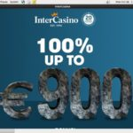 Intercasino Desktop