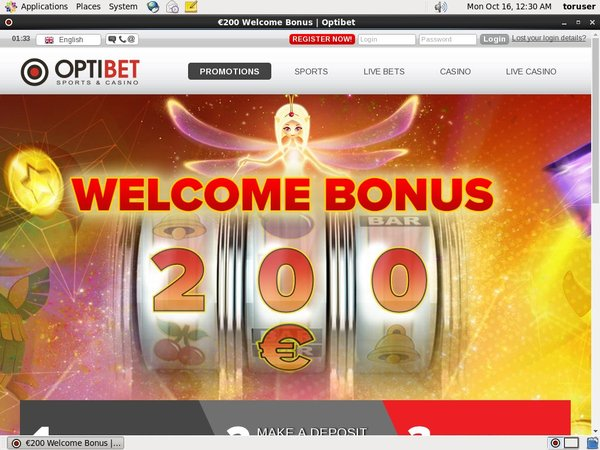 Optibet Discount Offer