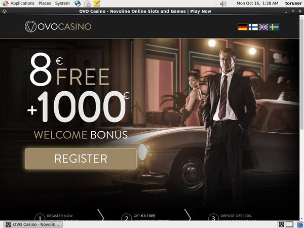 Ovo Casino Signup