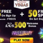 Pocket Vegas No Deposit