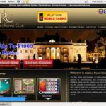 Royal Casino Club Register Page