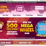 Scope Bingo Deposit Play With