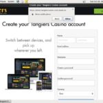 Tangierscasino Sign Up Form