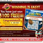 Vegas Strip Free Signup Bonus