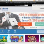 Vogliadivincere Sign Up Bonuses