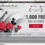 Welcome Bonus Platinumplay