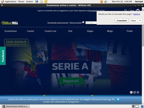 Williamhill Hent Bonus