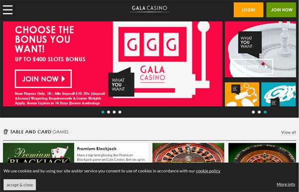 Gala Poker New Customer Promo