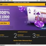 Betfair Poker Sign Up Code