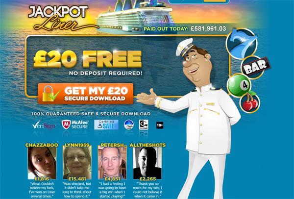 Jackpot Liner UK Join Vip