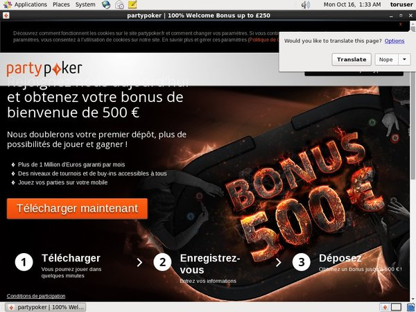 Partypoker Register Bonus