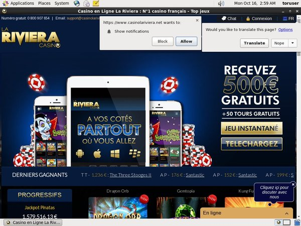 Riviera Casino Iphone App