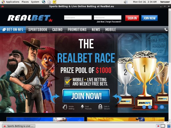 Realbet Coupon