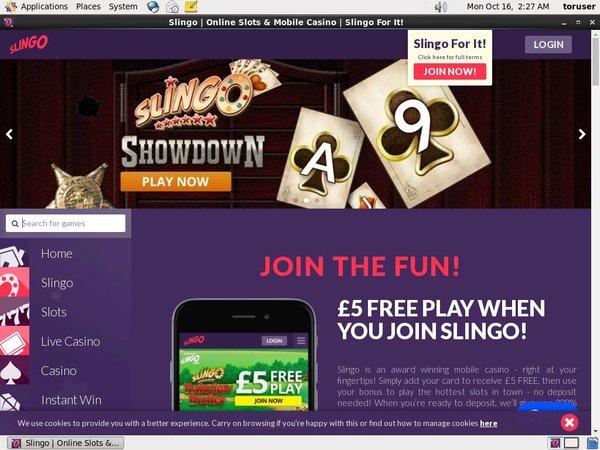 Slingo Casino Reviews