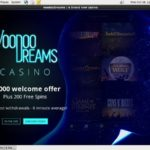 No Deposit Bonus Voodoo Dreams