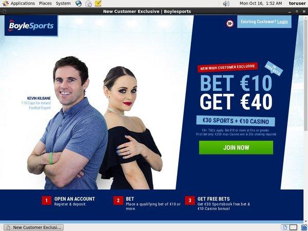 Betting Boylesports