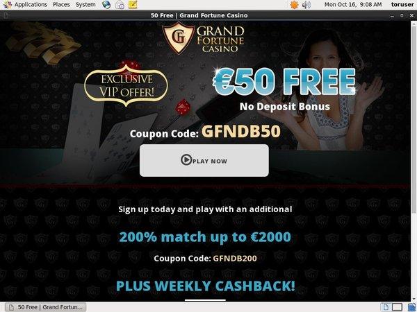 Grandfortune Cash Codes