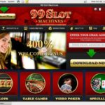 99slotmachines New Customer Bonus