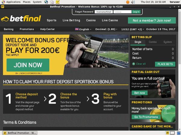Betfinal Gambling Sites