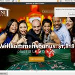 Omnicasino Sign Up Page