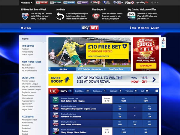 Sky Casino Bookmakers