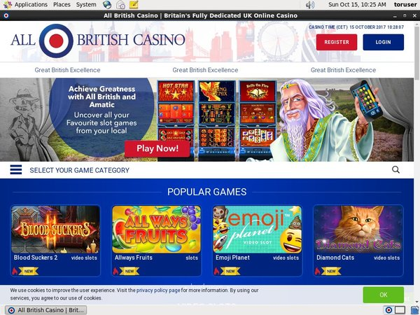 All British Casino Live Casino Uk