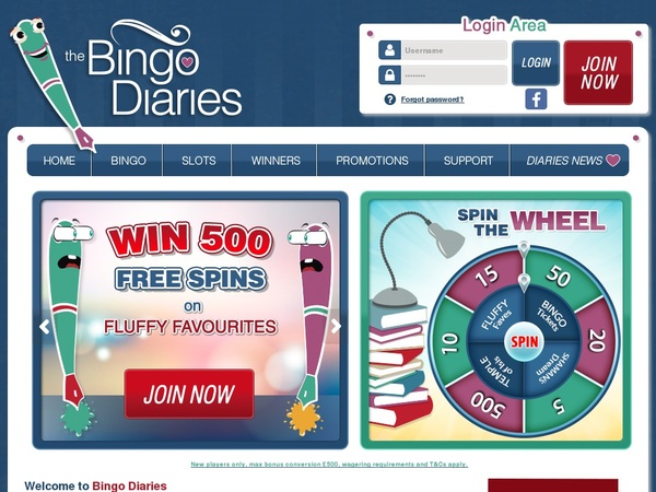 Bingo Diaries Scratch