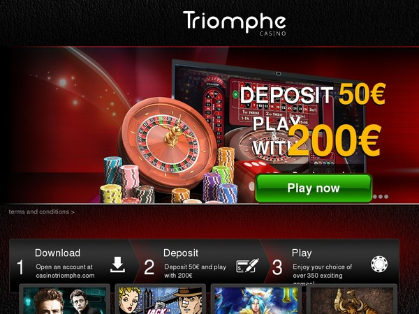 Casinotriomphe 3 Reels