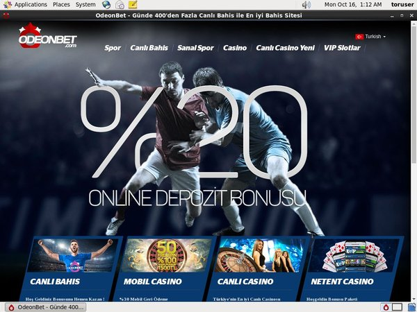 Odeon Bet Sign Up Promo
