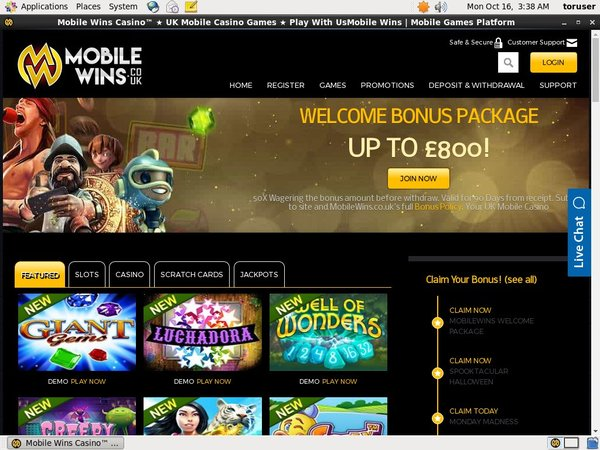 Mobile Wins No Deposit