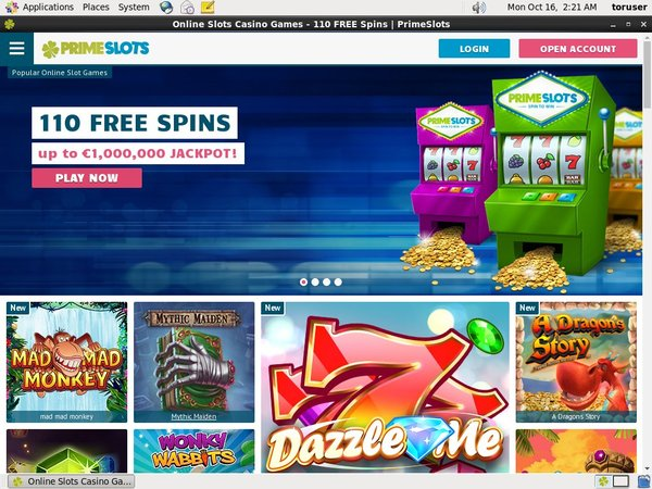 Prime Slots Pay