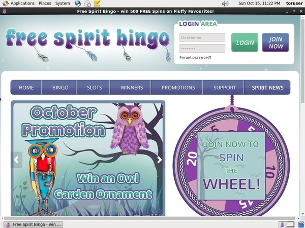 Free Spirit Bingo Poker Windows
