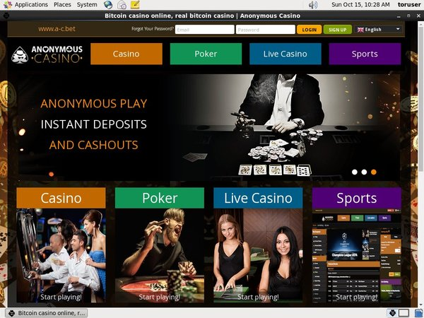 Anonymous Casino Login