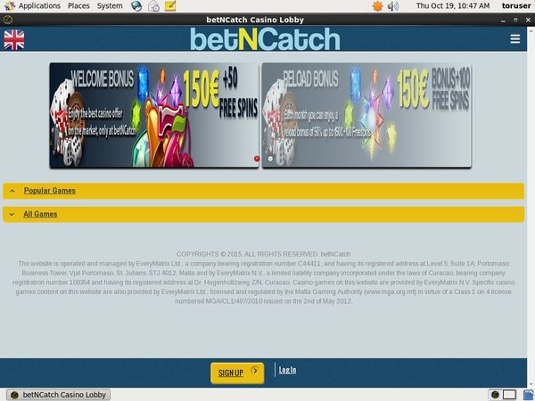 Bet N Catch Best Deposit Bonus