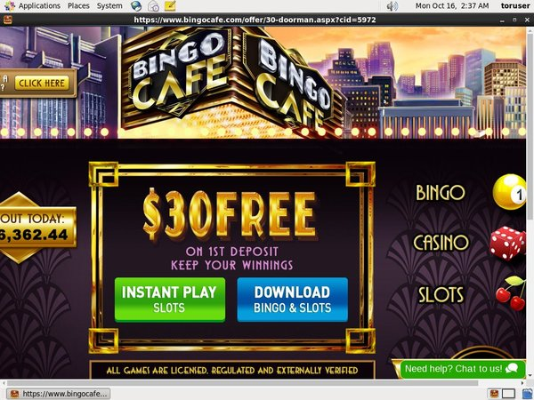Bingocafe For Free